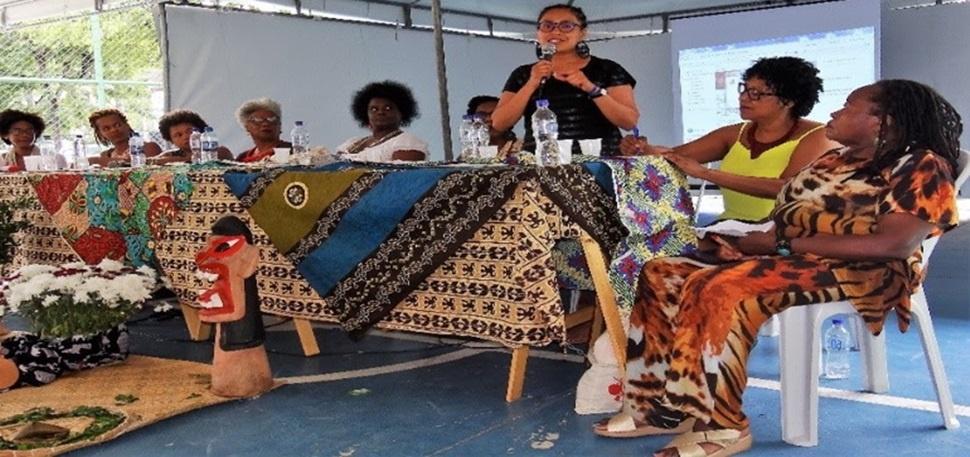Paola Yañez, integrante da Rede de Mulheres Afro-latino-americanas, Afrocaribenhas e da Diáspora. Foto: ONU Mulheres/Isabel Clavelin